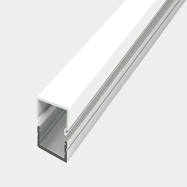 Linear led suspended light for led strip light aluminum extrusion use in ceiling/drywall