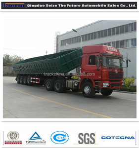 China famous trailer manufacturers 3 axles/4 axles tipper trailer