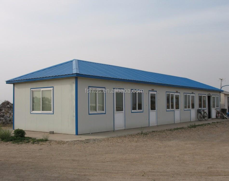 T Type Light Steel Frame Modular Pre Built Prefab Homes