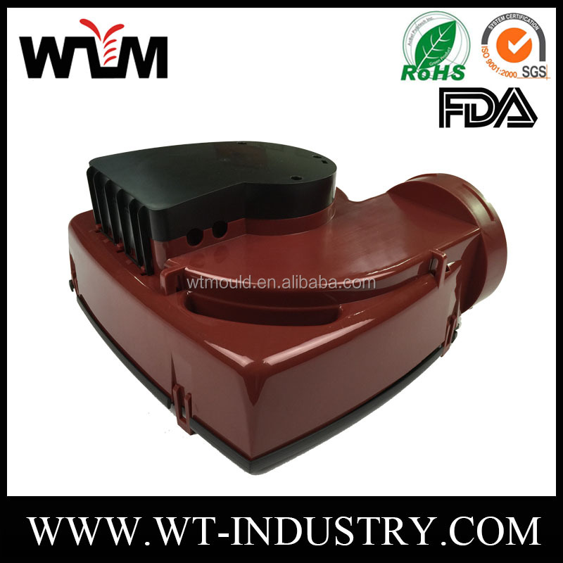 Industrial applications ABS material injection plastic mold for Exhaust fan housing