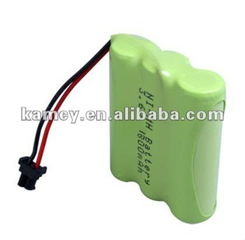 3 6 volt nimh rechargeable battery pack aa1800mah battery. Black Bedroom Furniture Sets. Home Design Ideas
