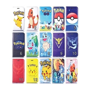coque rabat iphone 4 pokemon
