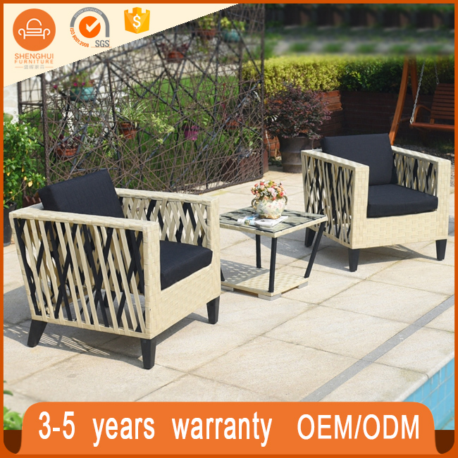 NEW Rattan Outdoor Furniture Wicker Dining Table And Chairs Ratan Dining Set Furniture