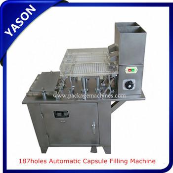 Ys 187holes Semi Automatic Capsule Filling Machine Buy