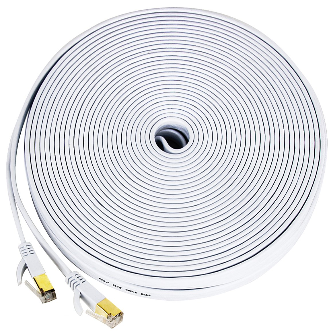 Cheap Outdoor Cat5 Cable Find Deals On Line At Cat 5e Patch Cords Cables Cat5e Get Quotations 7 Ethernet 100 Ft Wireless Networking With Clipssupports