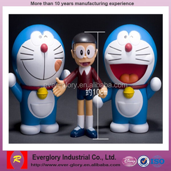 Seksi 3d Kustom Kartun Doraemon Manusia Gambar Mainan Film Aksi