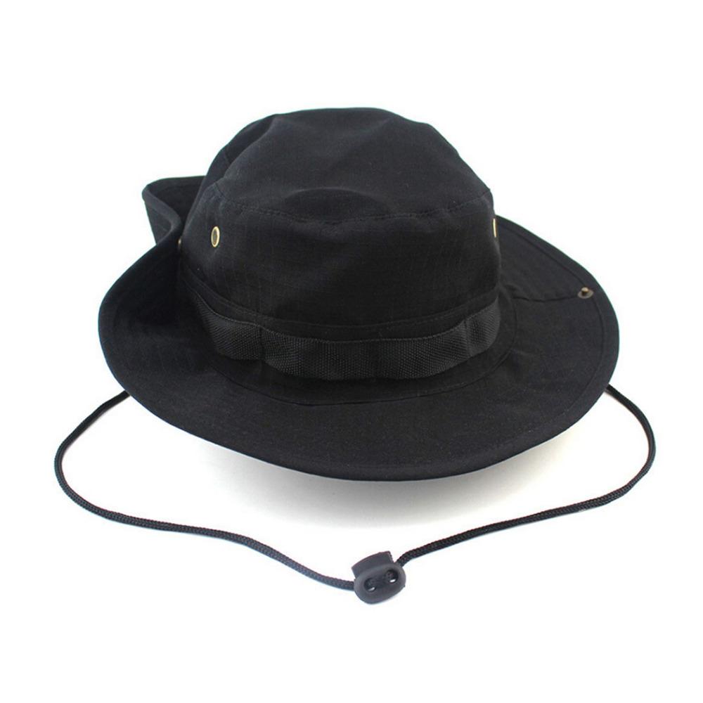 Bucket Hat Boonie Hunting Fishing Outdoor Cap Wide Brim ...