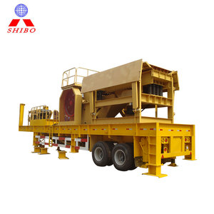 SHIBO factory price mobile rock impact india crusher for sale