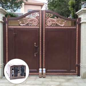 Modern Luxurious Craft wrought iron inserts for gates iron main gate designs
