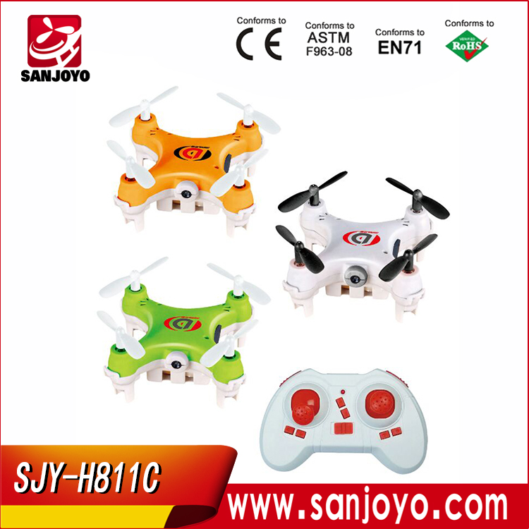 Mini RC Quadcopter Nano Quadcopter micro sized drone With Camera SJY-H811C