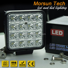 48W led worklight,cre e led worklight,led work lamp spot flood combo