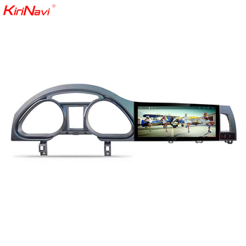 KiriNavi Hot selling 10.25 inch capacitive screen wifi android 7.1 gps car dvd player for Audi Q7 gps navigation 2006-2015