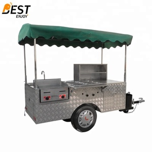 Manufacturer Supply hot dog cart blueprints free motorized business license BestEnjoy OEM customized