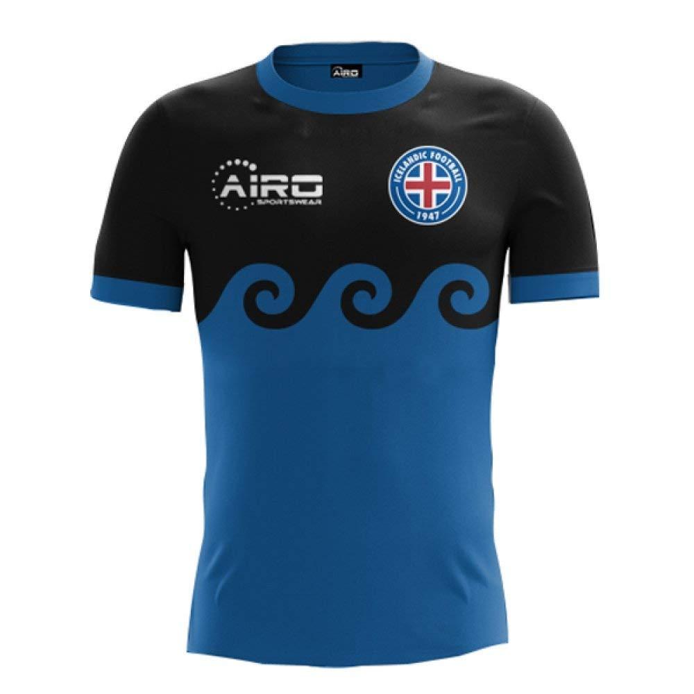 ddfaf79e0 Airo Sportswear 2018-2019 Iceland Third Concept Football Shirt (Kids)