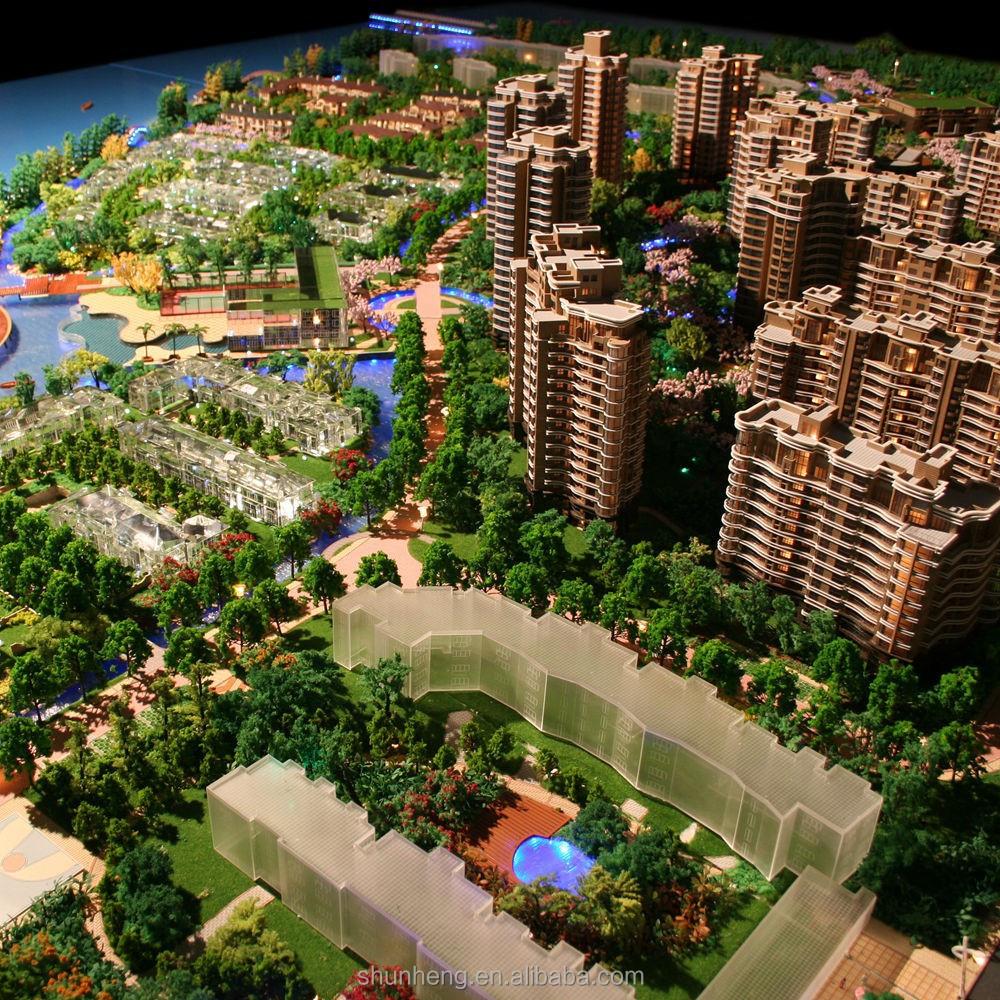 Personnalisu00e9 Urbanisme Miniature Building Maquette Fabricant-Autres Travaux De Construction U0026 D ...