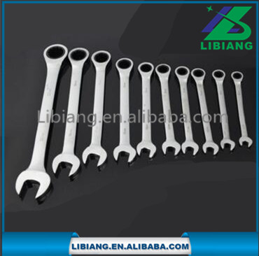 "8""-32"" High Quality Combination Ratchet Spanner wrench"