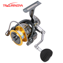 Tsurinoya 11 kg Darg Power Spinning Angeln Reel <span class=keywords><strong>CNC</strong></span> Griff FS 4000 9 + 1BB Angelrollen