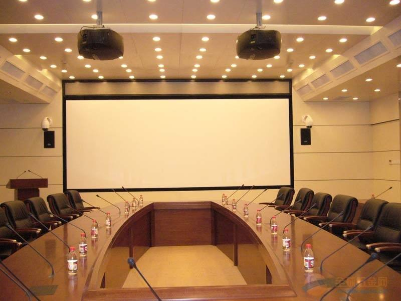 Picture frame 106 inch projection screen with LED Light