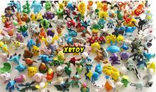 144pcs lot Pokemon model Toys Figures PVC action toy figures 2 3 cm Mini Pokemon Animal
