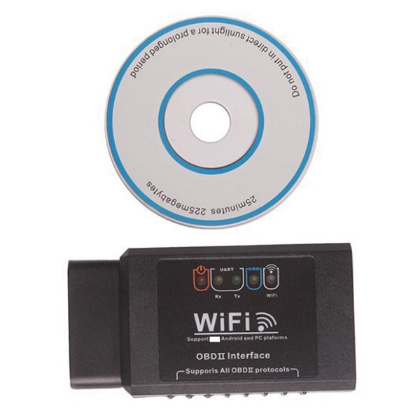 Auto OBD2 WIFI Wireless obd-ii OBDii Diagnostic Tool ELM327 WIFI OBD2