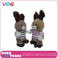 Trade assurance Factory Wholesale plush easter bunny carnival plush rabbit toys
