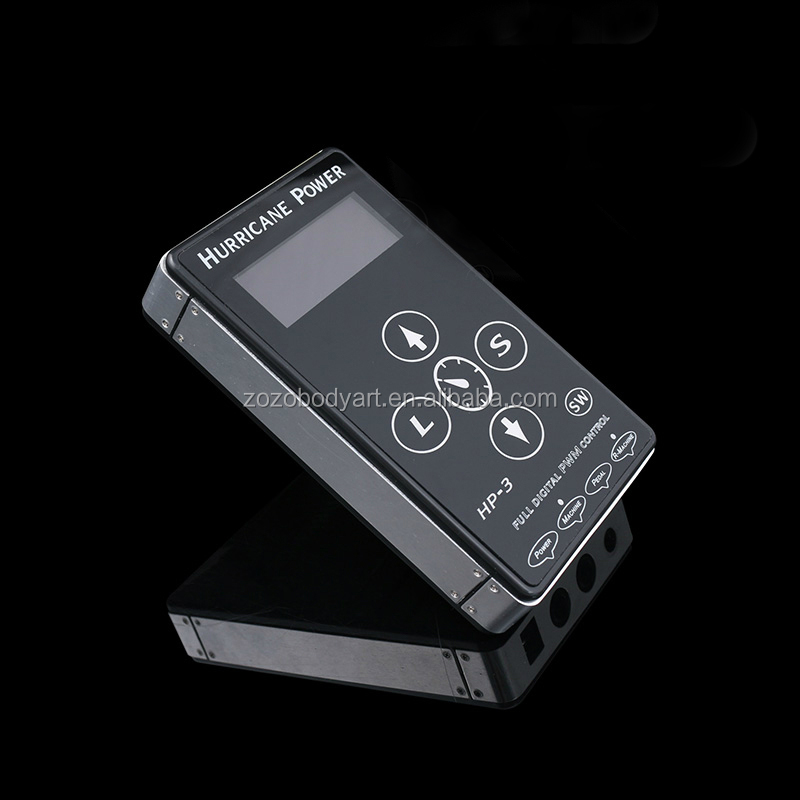 LCD digital display can stand workstation alone 110-120V hurricane hp-3 makeup Tattoo Power Supply for tattoo kits