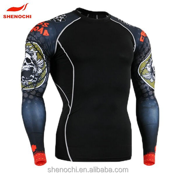 Rash Guard Hersteller mma rash guard sublimated rash guard design
