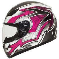 VS001121 Easy remove decorative motorcycle helmet stickers