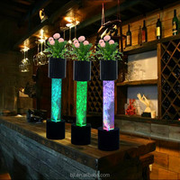 Cheap price led sensory water bubble column design for thanksgiving centerpiece ideas