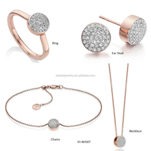 Qualified Trendy Women Jewelry Finding Fashion Souvenir Women Gift Sets