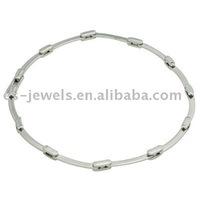 Stainless Steel Womans Anklet Bracelet 9.5