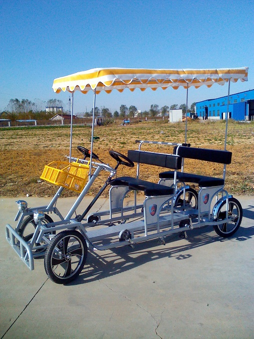 used four wheel quadricycle surrey bike for sale buy surrey bike four wheel surrey bike used. Black Bedroom Furniture Sets. Home Design Ideas