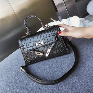 2018 New Mini white crocodile handbag female China factory wholesale Women Shoulder Crossbody Bags