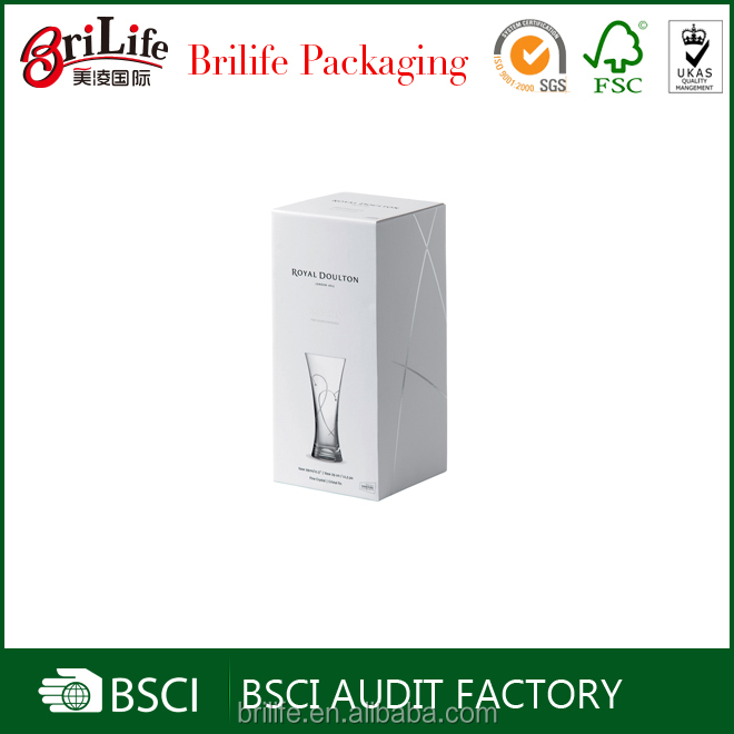 Fancy High Quality vase packaging box Supplier