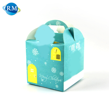 Rongmei Wholesale Recycled Gift Folding Paper Box With Logo Printing
