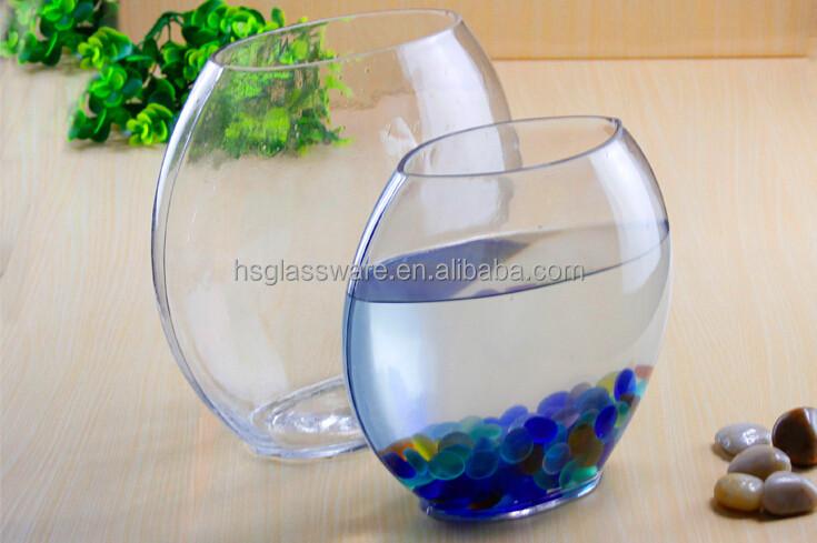 Glass Vases Flat Glassware Cylinder Vase Wholesale Buy Fish Bowl