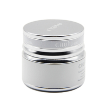 luxury beauty cream silver bottle aluminum jars for cosmetic packaging