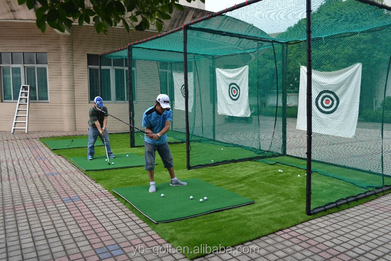pgm outdoor golf practice net doel 3 meter