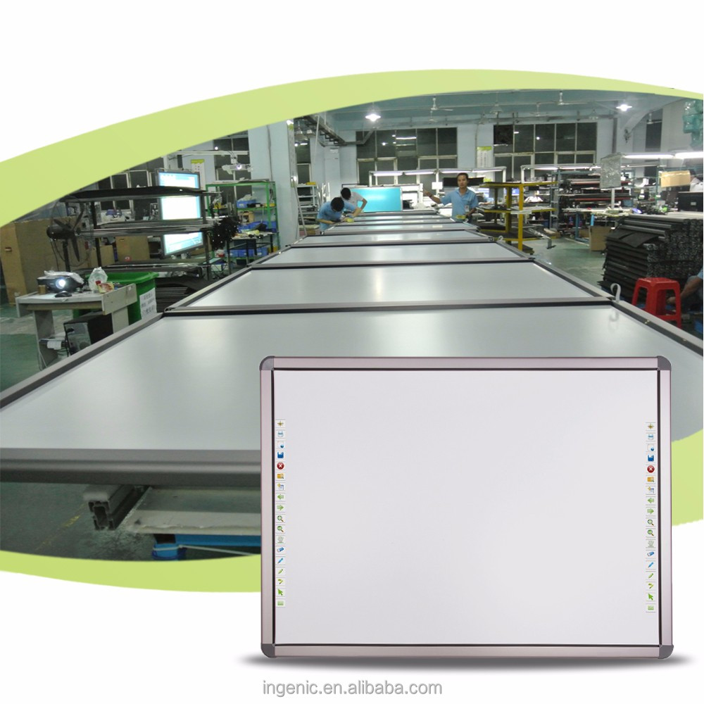 90'' green interactive whiteboard for Armenia business