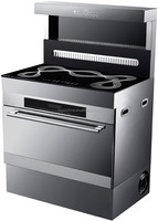 90cm width MIXED GAS stove AND ELECTRIC OVEN freestanding oven with gas hob 5 burner gas cooker