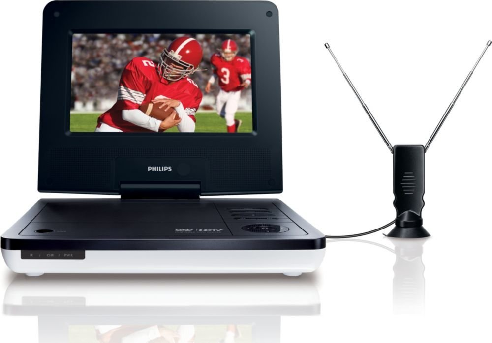 Philips PET729/37 7-Inch LCD Portable TV/DVD Player (Discontinued by Manufacturer)