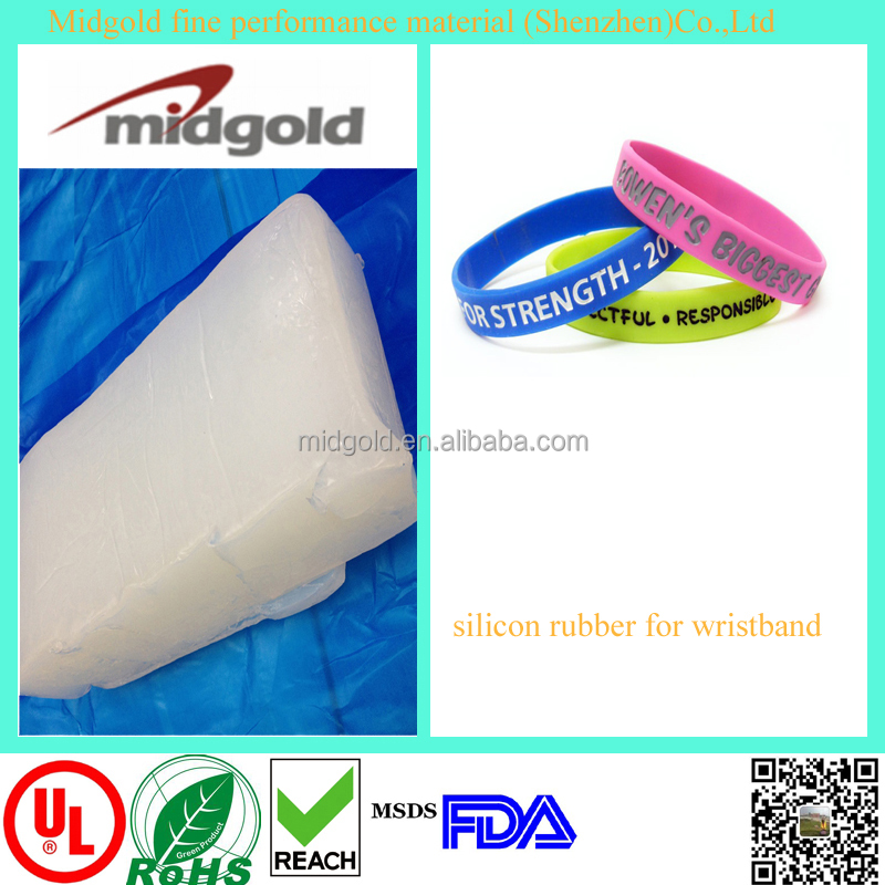 Cheap wrist bands making solid silicone rubber