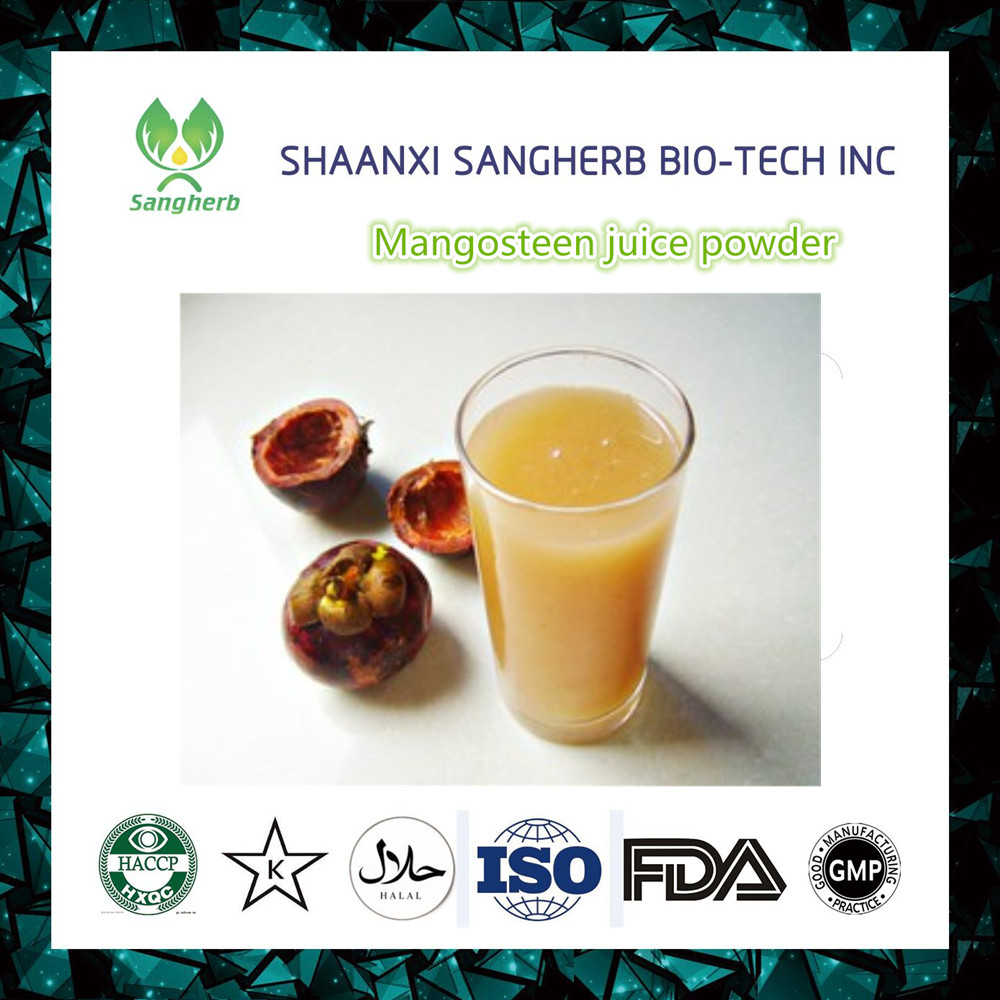 High Quality organic natural Mangosteen Juice Powder