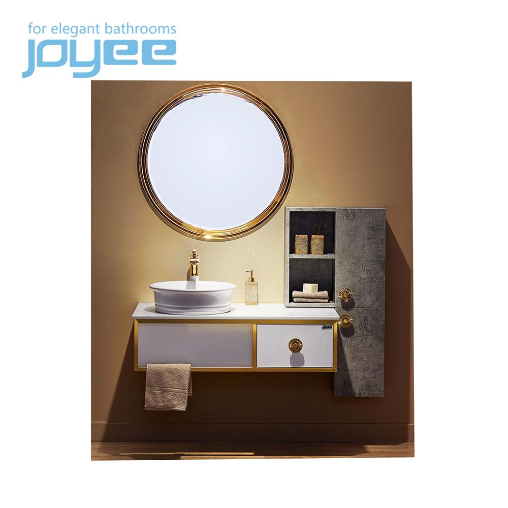 Narrow Bath Sink Organizer Space Saving Floor Cabinet with Doors and Shelves for Bathroom Henf Waterproof PVC Standing Bathroom Tower Storage Cabinet White Floor Free Standing Cabinet