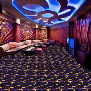 Luxury colorful hotel woven axminster casino carpet