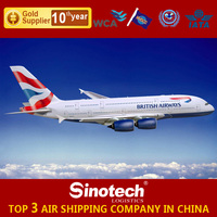 Freight forwarding from China to Worldwide air freight air cargo rates