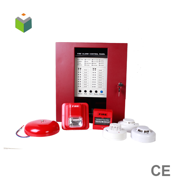 2017 Hot Sale 4 zone conventional fire alarm system with low comsuption for building fire security