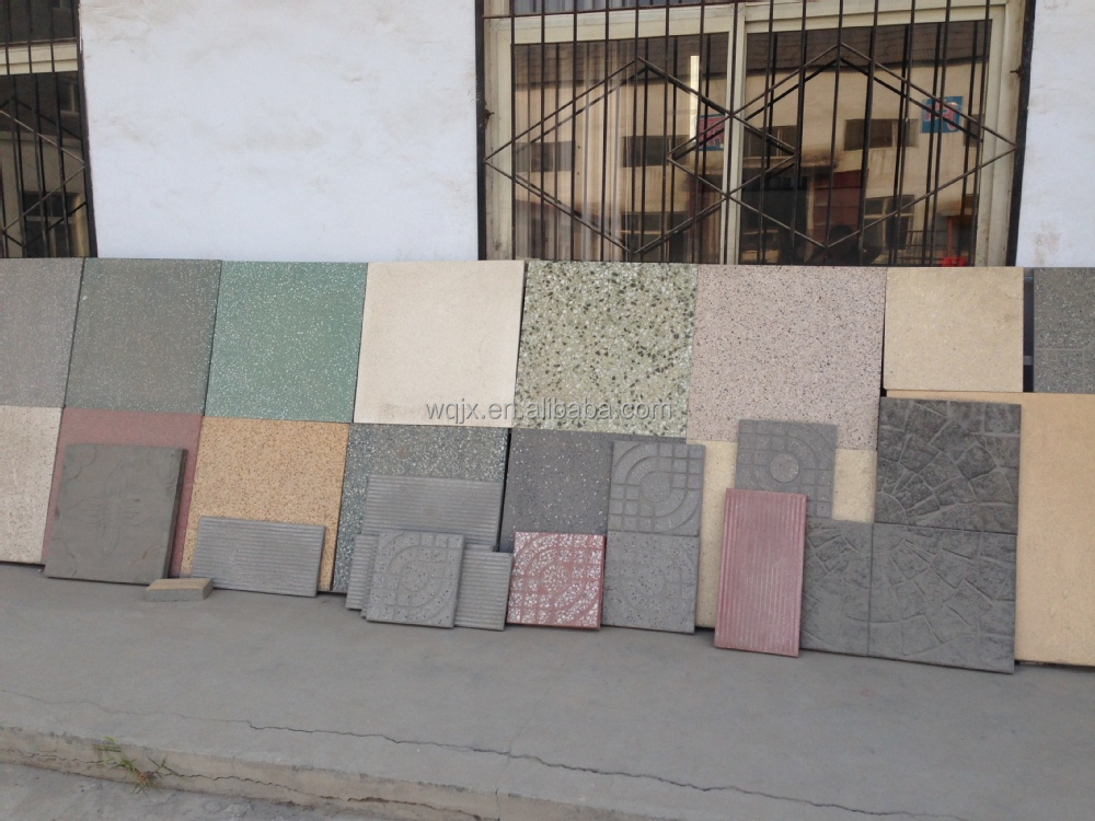 Floor Tile Making Machine Price New Design Terrazzo