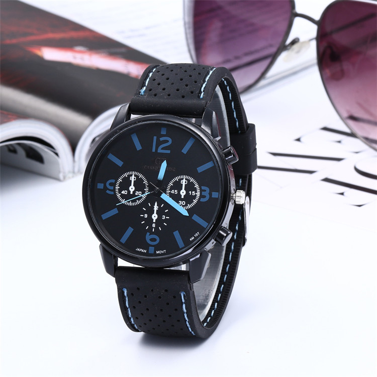2019 New Fashion Geneva Brand Casual Quartz Women Silicone Strap Watches