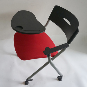 Hot sale factory direct price padded conference college student desk chair parts